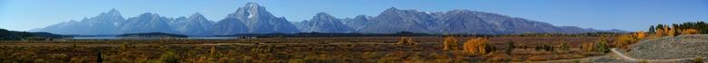 Grand Teton Range, Wyoming