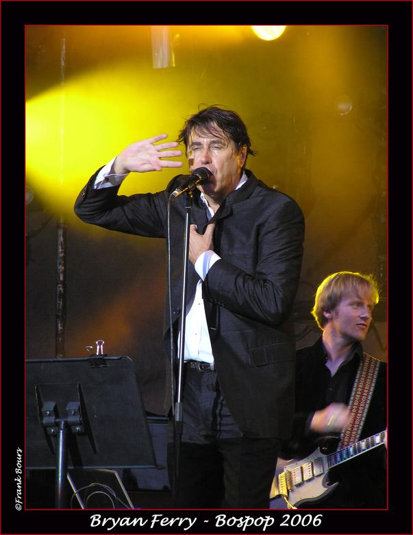 Bospop 13 - Bryan Ferry van Roxy Music gezien op Bospop 2006