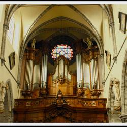 Orgel van de st jacobs kerk Gent