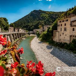 Langs de oevers van de Drôme