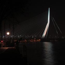 Erasmusbrug Rotterdam by night 2