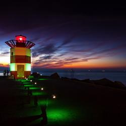 Lichtbaken Noordelijk Havenhoofd Scheveningen