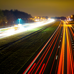 A27 by night