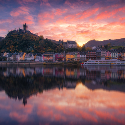 Reflections of Cochem