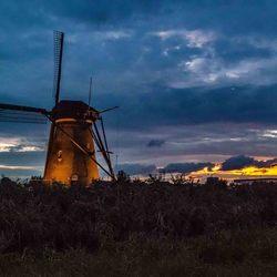 windmolens bij Kinderdijk_V