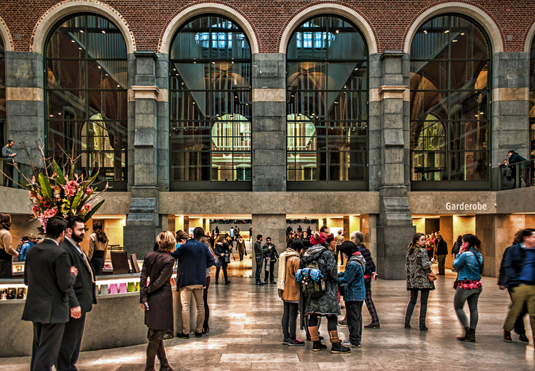 hal rijksmuseum - hal in Rijksmuseum