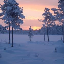 Zonsondergang meer