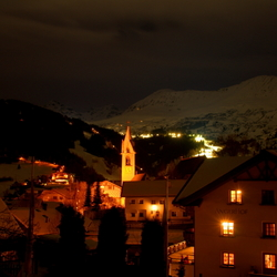 Serfaus by night HDR