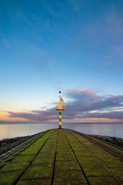 Goese Sas - Een bijna ondergaande zon doet altijd wonderen in de foto!