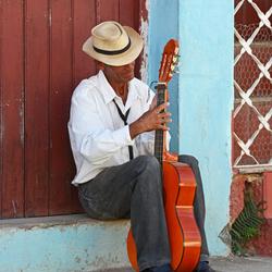 muzikant Cuba