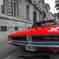 Vintage Dodge Charger RT