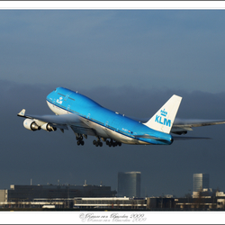 KLM PH-BFY Take off