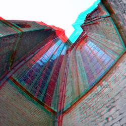 Achtergevel Oude-Kerk Delft 3D Rokinon 8mm