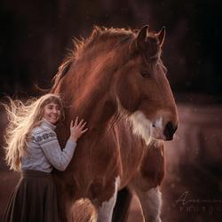 Emma en Lillen de Shire