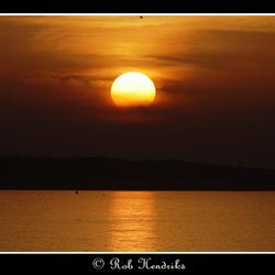 Sunset at Brouwersdam - 02