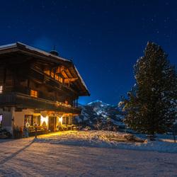 Koude nacht in Oostenrijk!