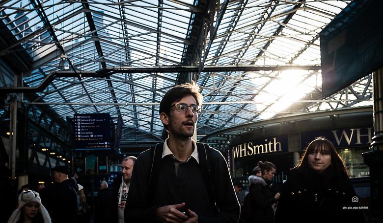 edinburgh station  -