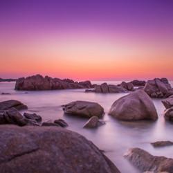Sardinië zonsondergang
