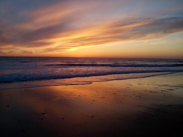 Zahora Beach Sunset - Het Strand van Zahora, Atlantische Oceaan, Zuid Spanje