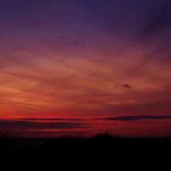 Zonsondergang langervelderslag