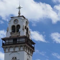 P1060740 ShiftN  Tenerife Detail toren basiliek  Candelaria  21mei  2019