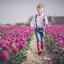 Pret tussen de tulpen