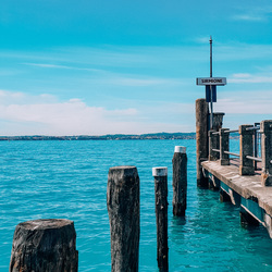 Sirmione, Gardameer, Italië