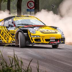 Porsche 997 GT3 van Patrick Sneijers.