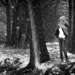 Fotoshoot - Mandy - Sneeuw - 1