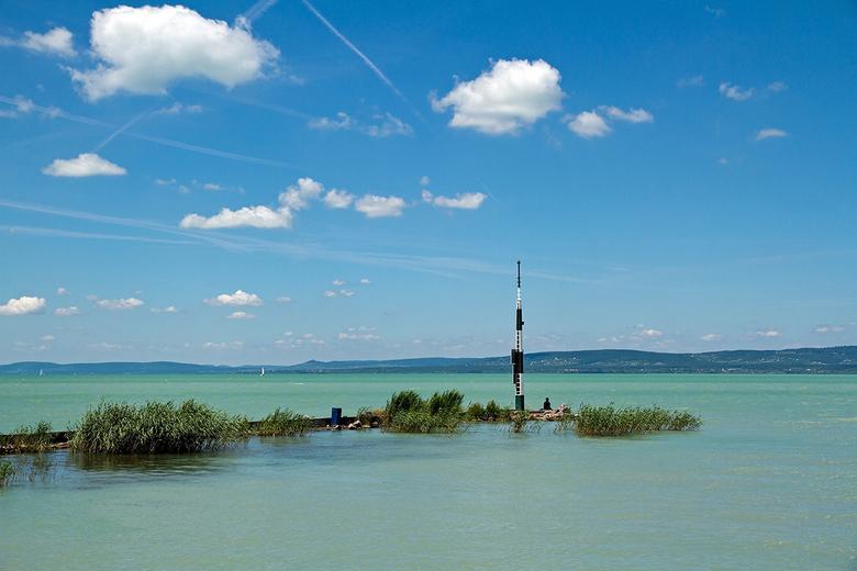 Hongarije 2 - Het balatonmeer bij de veerpont