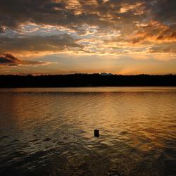 Cordova lake Sunset