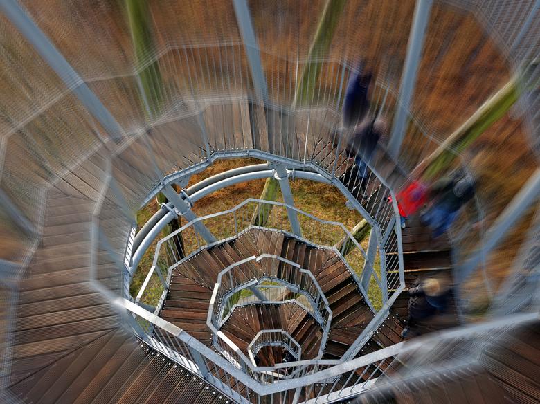 De   - ESBEEK /  Tweede Kerstdag een wandeling door het Landgoed van Utrecht.<br /> <br /> Sinds 11 november 2011 is de Flaestoren geopend. Een uitk