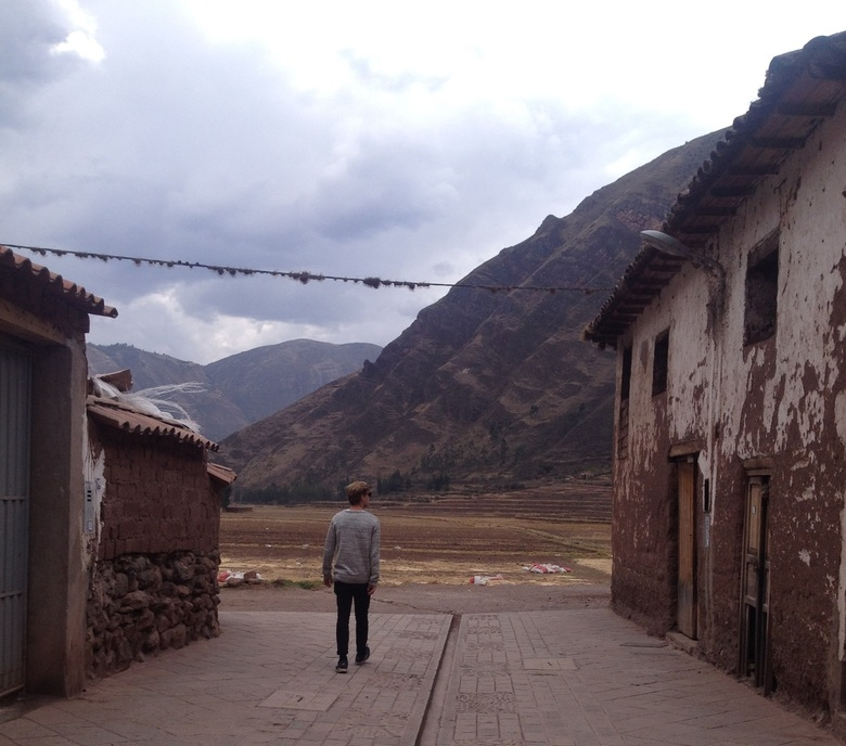 Alleen op de wereld, Pisac (Peru)