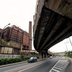 Charleroi - Route de Mons - Metro Viaduct