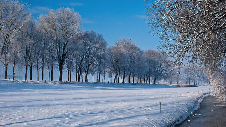 Winter landscape - Nog ff een winters plaatje van de plank.