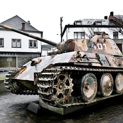 Tiger Tank Houffalize (Ardennen)