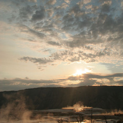 Yellowstone zonsopgang