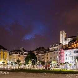 Omgeving van ons hotel in Lissabon