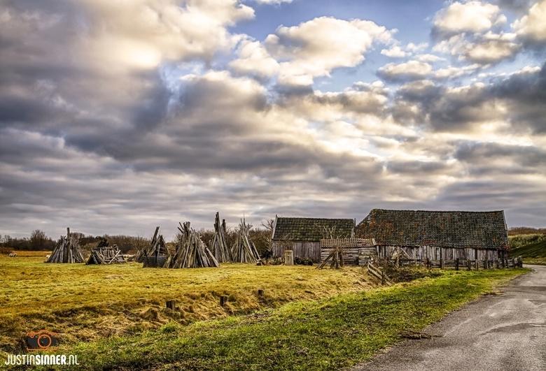 Landschap van Texel.