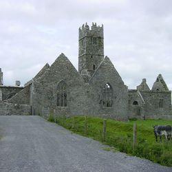 Irish Monestry in colour