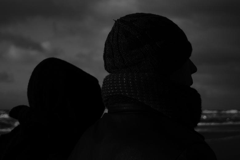 Guur - Deze foto is genomen tijdens een 4 uur durende wandeling over het gure en winderige strand van Bergen aan Zee.