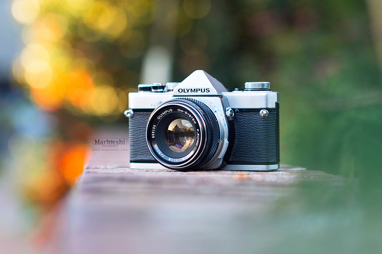 """Good old days - Nieuw lid van de analoge camera familie! <img  src=""""/images/smileys/smile.png""""/><br /> <br /> © Marloes van Antwerpen"""