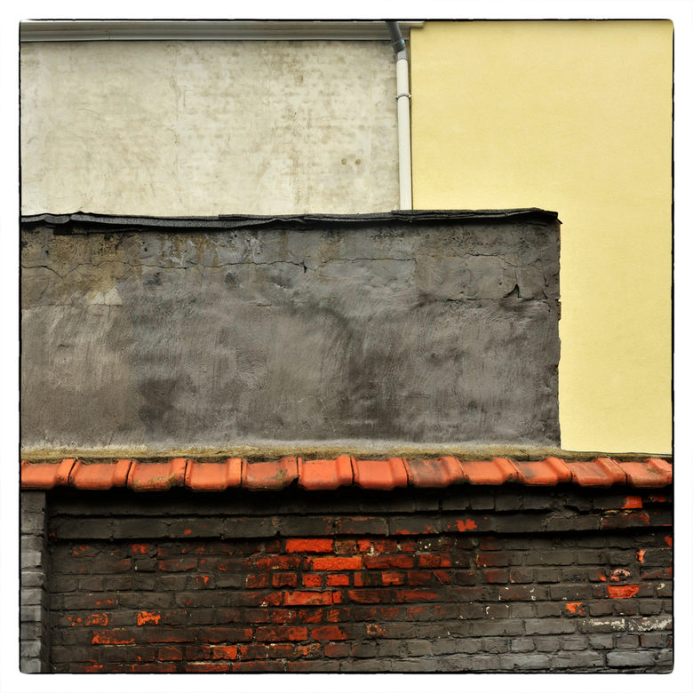ook muren kunnen een verhaal vertellen