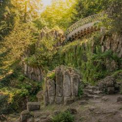 Sprookjesachtige brug