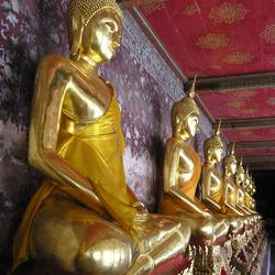 Lading goude Buddha's