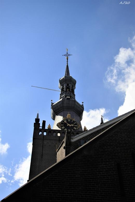 de kerktoren van Overschie  - de kerktoren van Overschie<br /> Gtjs.AJ62