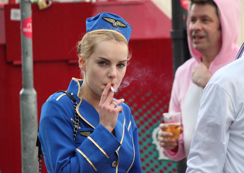 Purser - Carnaval in de binnenstad van Breda net na de verregende grote optocht.