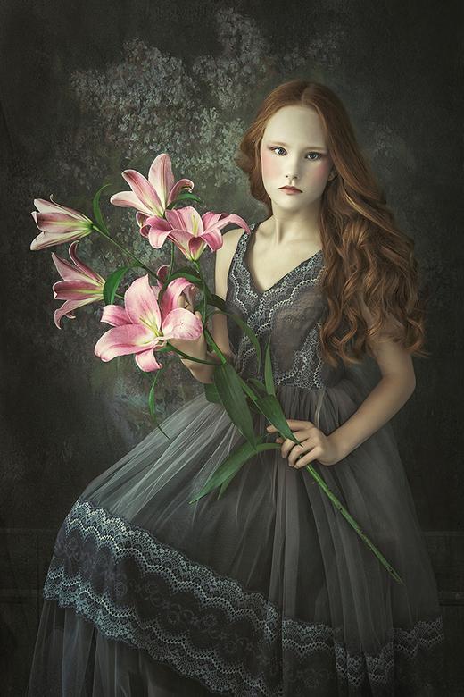 Polish flower girl -