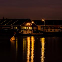 Lobroekdok Antwerpen by Night