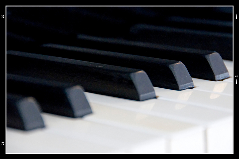 Piano 03 - Wanneer je een piano van dichtbij bekijkt en alles tot je laat doordringen, is het een instrument van veel vernuft. het is mooi te zien hoe